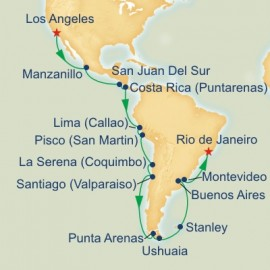 Andes and Cape Horn Grand Adventure Itinerary