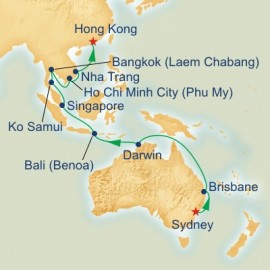 Australia and Southeast Asia Cruise