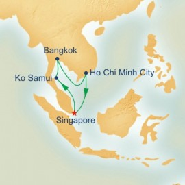 Vietnam and Thailand Itinerary