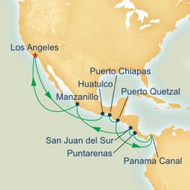 Panama Canal and Mexico and Central America Itinerary