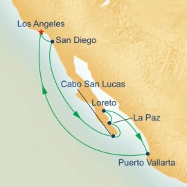 Mexican Riviera and Sea of Cortez Itinerary