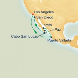 Mexican River and Sea of Cortez Itinerary