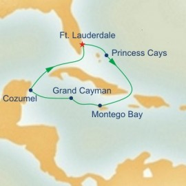 Western Caribbean Itinerary