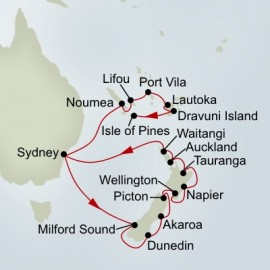 Pacific Treasures and New Zealand Collector Holland America Line Cruise