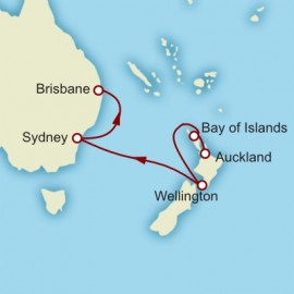Auckland to Brisbane Cruise