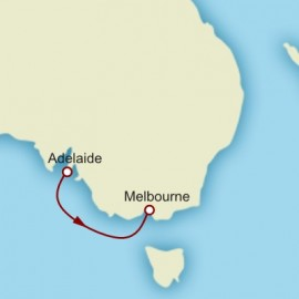 World Cruise Adelaide to Melbourne Sector Cruise