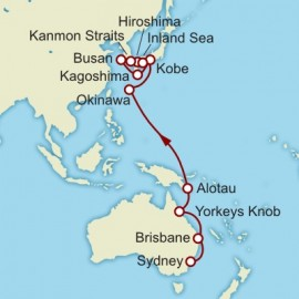 Sydney to Kobe World Sector Cruise