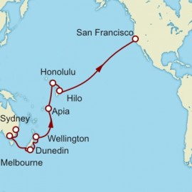 Sydney to San Francisco World Sector Cruise