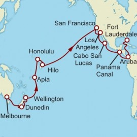 Melbourne to Fort Lauderdale World Sector Cruise