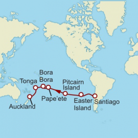 Valparaiso to Auckland World Sector Cruise