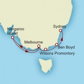 World Cruise Melbourne to Sydney Sector Cunard Cruise