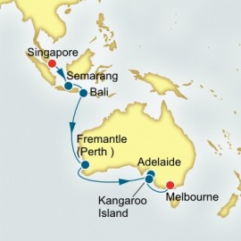 Singapore to Melbourne World Sector Cruise