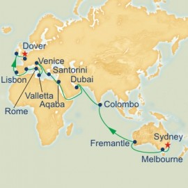 Sydney to Dover World Sector Cruise