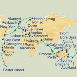 Roundtrip Fremantle World Sector Cruise