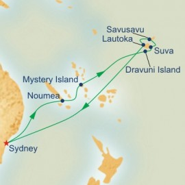Fiji and South Pacific Cruise