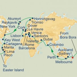 Roundtrip Auckland World Sector Cruise