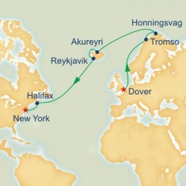 Dover to New York World Sector Princess Cruises Cruise