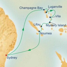New Caledonia and Vanuatu Cruise