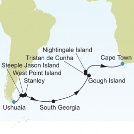 Trans Atlantic Itinerary