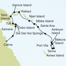 Vila to Cairns Itinerary
