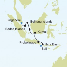 Bali to Singapore Silversea Cruises Cruise