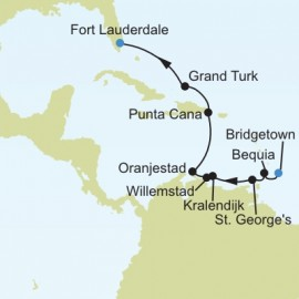 Bridgetown to Fort Lauderdale Florida Itinerary