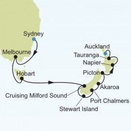 Sydney to Auckland Cruise
