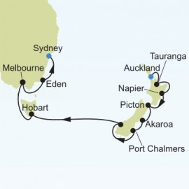 Auckland to Sydney Silversea Cruises Cruise