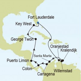 Fort Lauderdale to Fort Lauderdale Itinerary