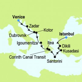 Venice to Istanbul Itinerary