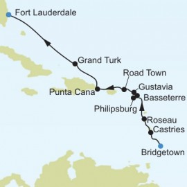 Bridgetown to Fort Lauderdale Silversea Cruises Cruise
