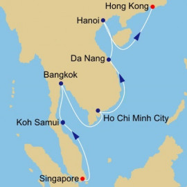 Thailand and Vietnam Azamara Club Cruises Cruise