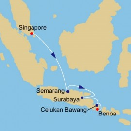 Borobudur and Bali Azamara Club Cruises Cruise
