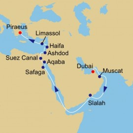 Oman Luxor and Israel Azamara Club Cruises Cruise