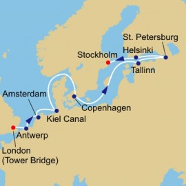 Baltic and World Cup Azamara Club Cruises Cruise