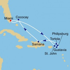 Caribbean Highlights Itinerary
