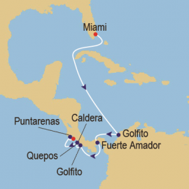Panama Canal and Costa Itinerary