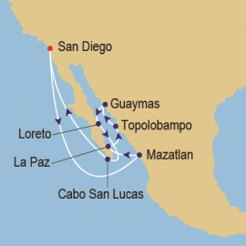 Sea of Cortez Discovery Itinerary