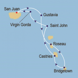 Caribbean Jewels Itinerary