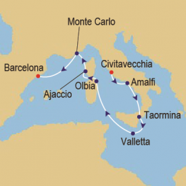 Classic Grand Prix and Med Azamara Club Cruises Cruise
