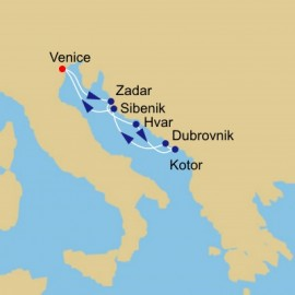 Dalmatian Discovery Voyage Itinerary