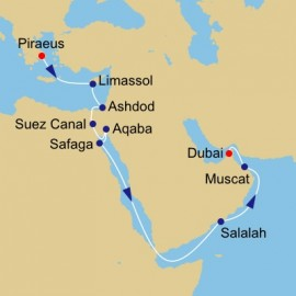 Voyage of Discovery Itinerary