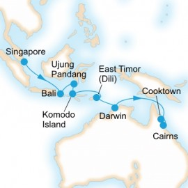 Indonesian Explorer Itinerary