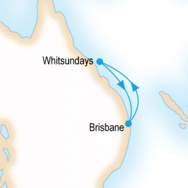 Whitsundays P&O Cruises Cruise