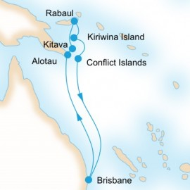 New Guinea Islands Unearthed P&O Cruises Cruise