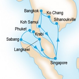 Ultimate Southeast Asia P&O Cruises Cruise