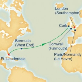 British Isles Passage Itinerary