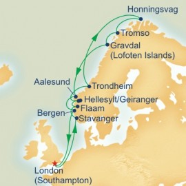 North Cape and Norwegian Fjords Itinerary
