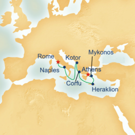 Greece and Turkey Itinerary