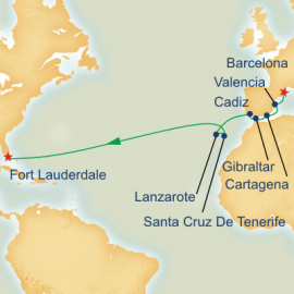 Spanish Passage Itinerary